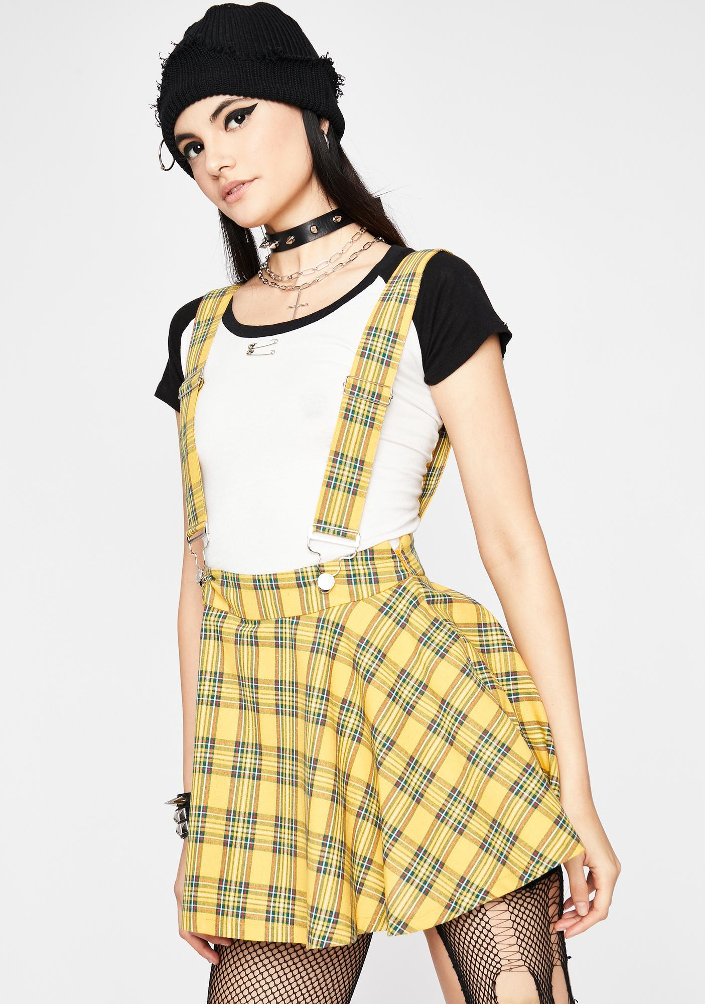 Sunny Class Act Suspender Skirt