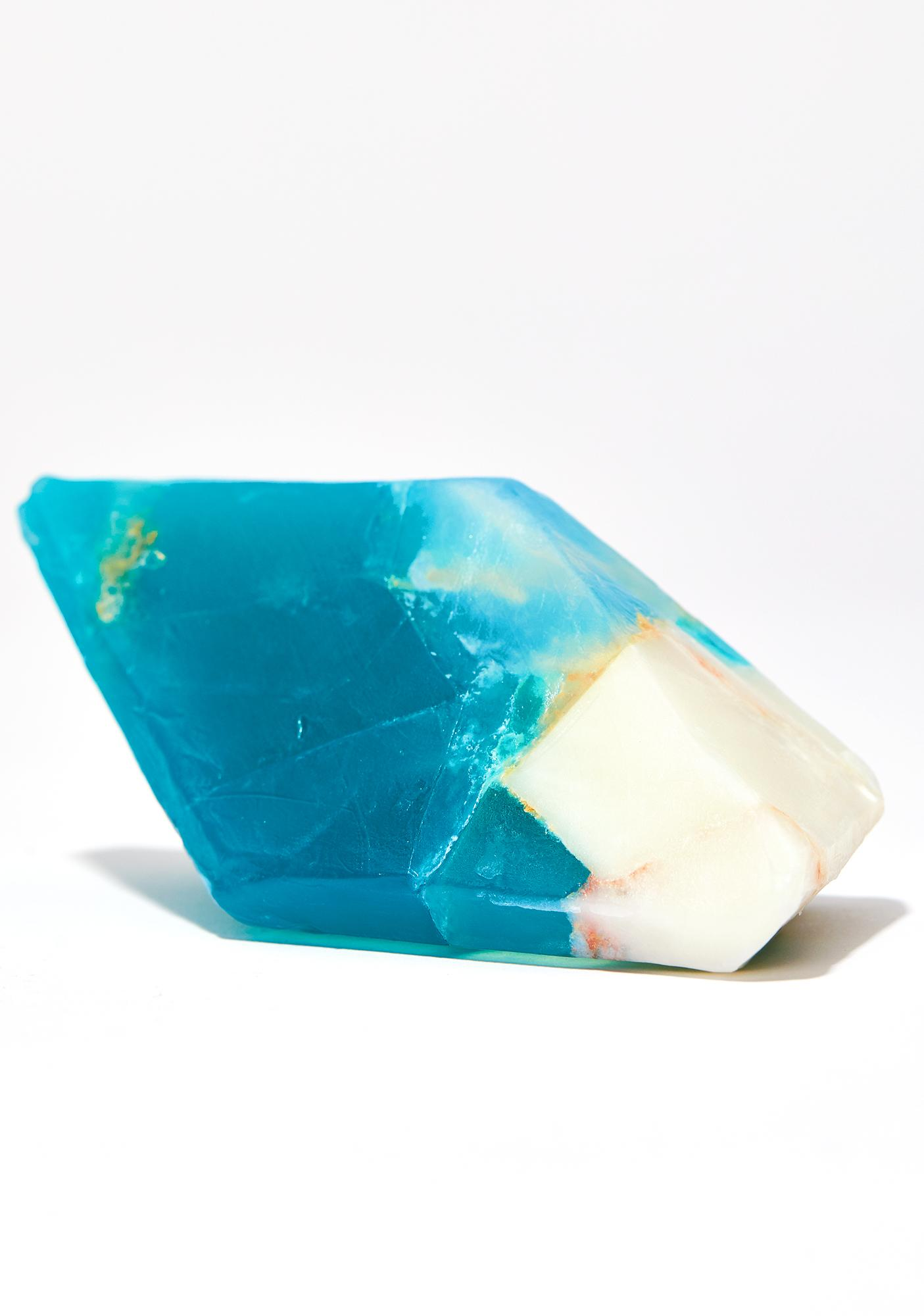 Aquamarine Queen Crystal Soap