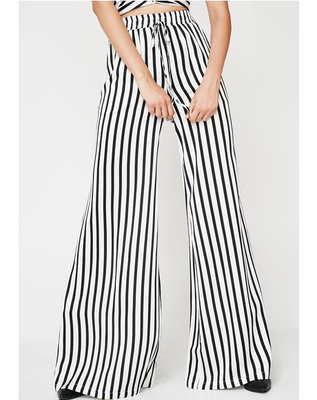 Won't Stop Stripe Pants