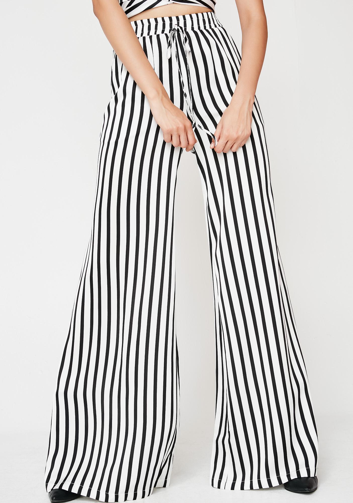 Won't Stop Stripe Pants