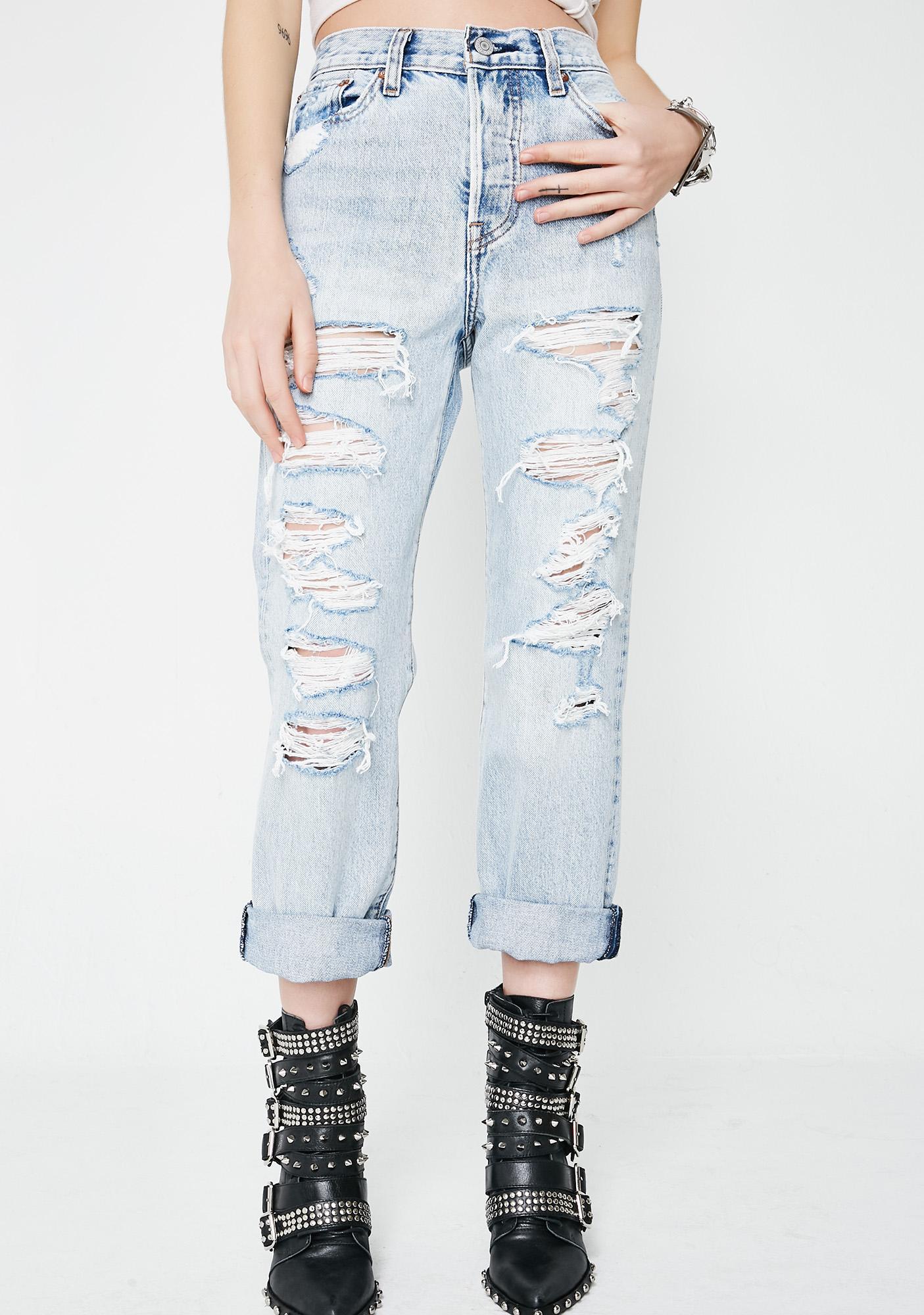 Levis Mass Destruction Jeans