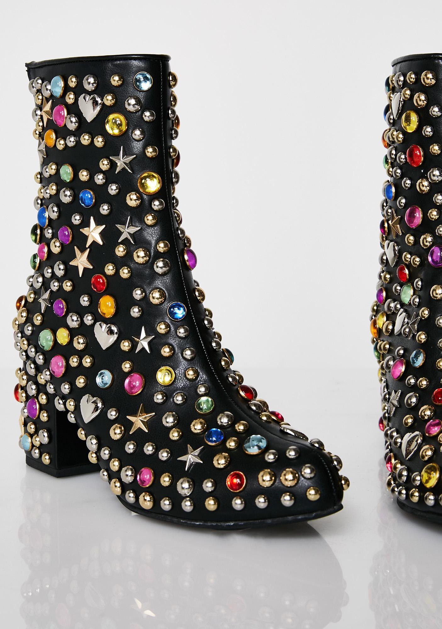 Current Mood Darkstar Gem Boots