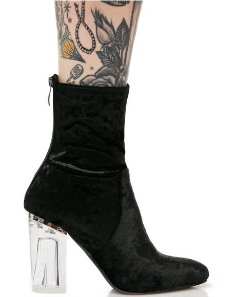 Velvet Midnight Saturn Boots
