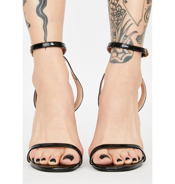 Dark Like Really Pretty Block Heels
