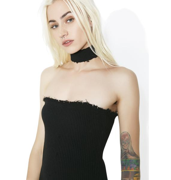 Dark Slayer Bodycon Dress