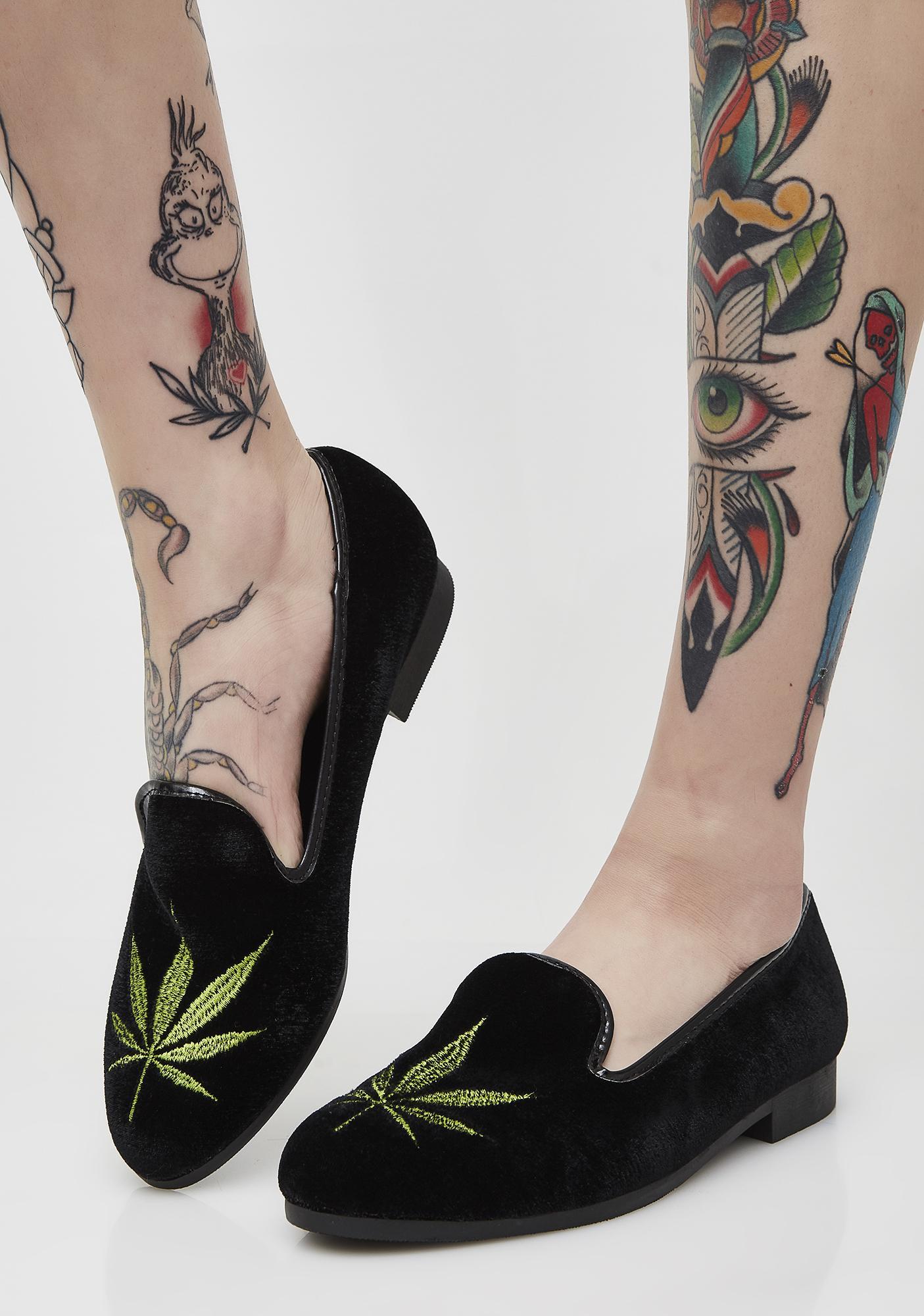 Y.R.U. Weed Loafers