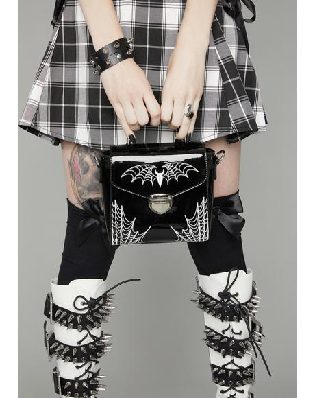 Onyx Bittersweet Spider Bites Crossbody Purse