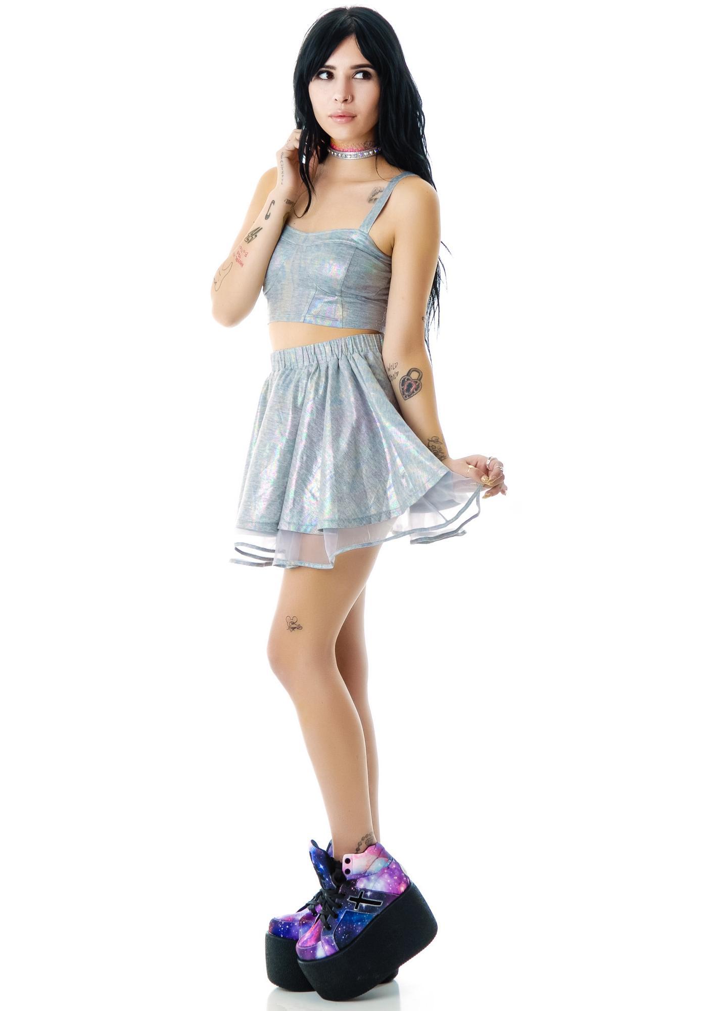 UNIF Spillz Skirt