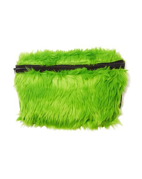 Green Monster Fanny Pack