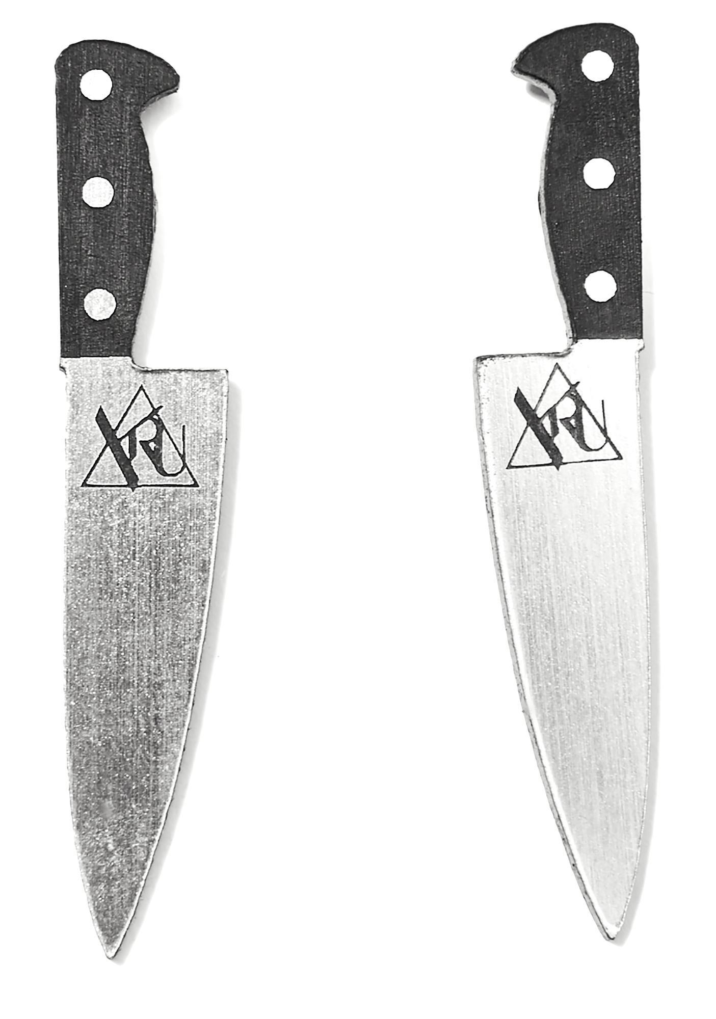 Y.R.U. Knife Earrings