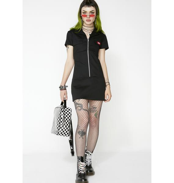 Dickies Girl Annie Zipper Dress