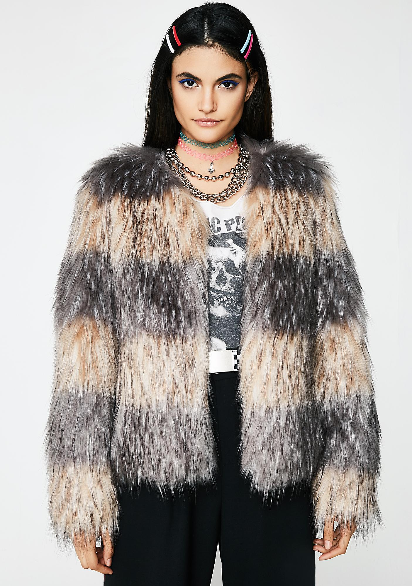 Unreal Fur Landscape Jacket