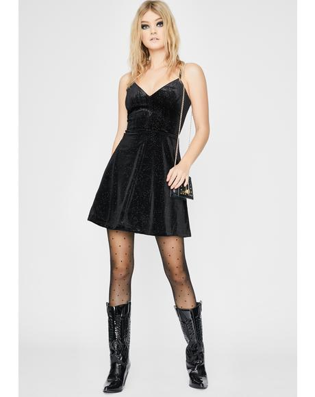 Black Trista Mini Dress