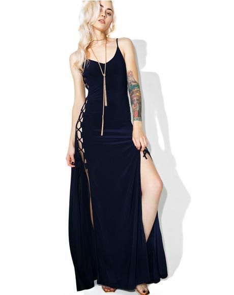 Side Maxi Dress