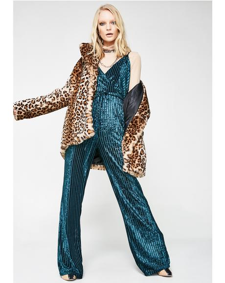 Groove Machine Velvet Jumpsuit