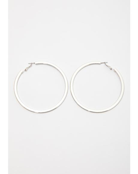 Shook Let It Ring Hoop Earrings