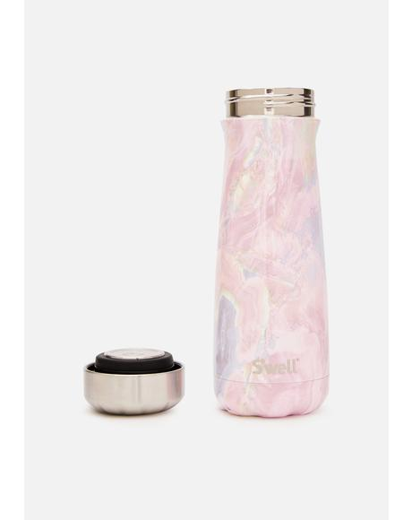 Geode Rose Traveler 20 oz Water Bottle