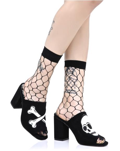 Get Yer Kicks Fishnet Socks