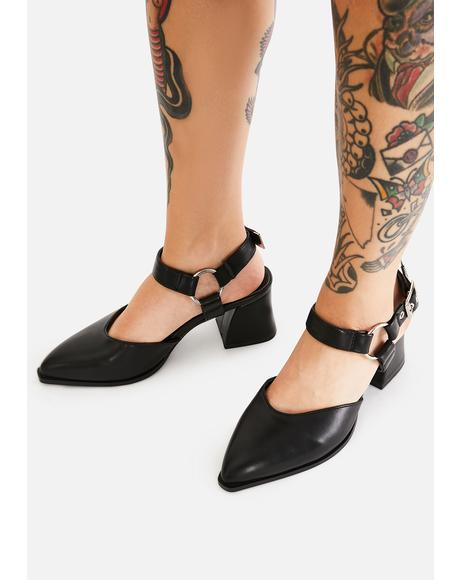 Wicked Alchemist Apprentice Kitten Heels