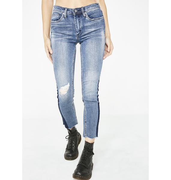 Blank NYC Gnarly Ripped Jeans