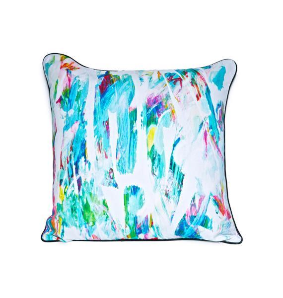 Pillows & Fibers Paint Strokin' Pillow