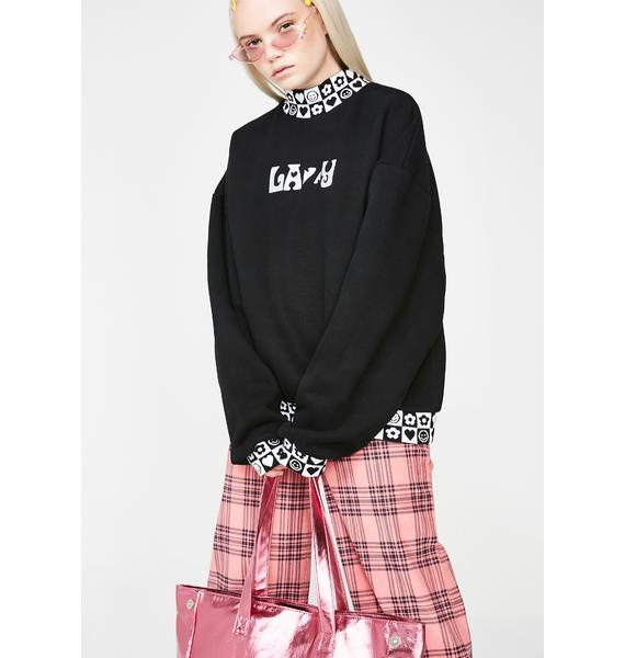 Lazy Oaf Lazy Check Sweatshirt