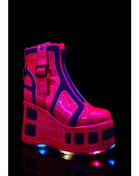 Pixie Plutonium Hologram Platforms
