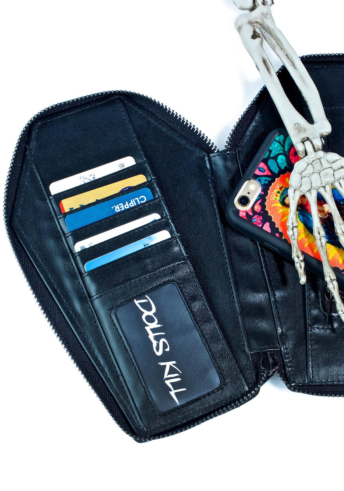 Killstar Casey Coffin Wallet
