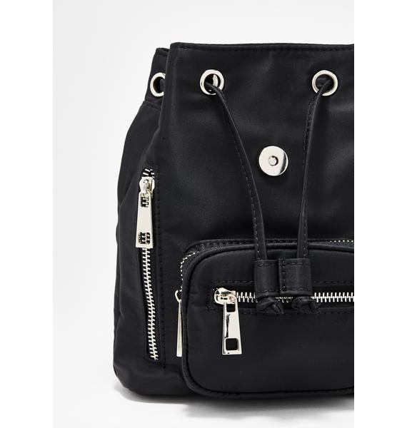 Current Mood Dark Super Charged Nylon Backpack