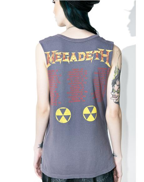 Rusted Metal Muscle Tee