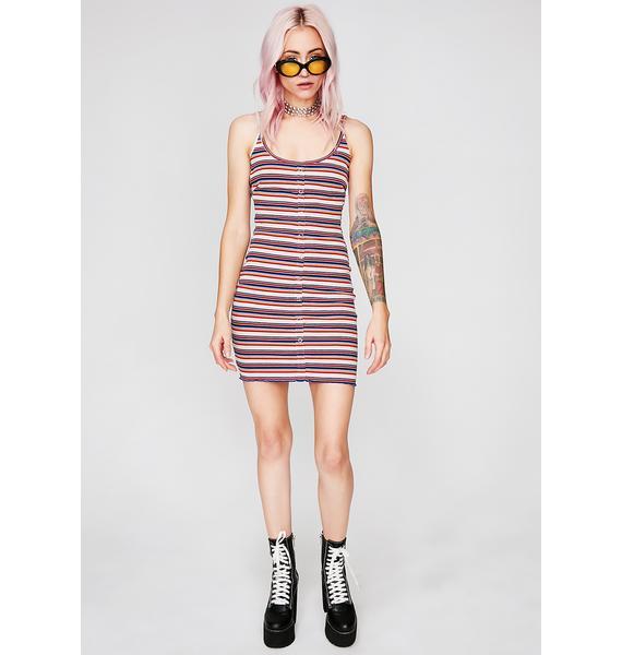 Snap Back Tank Dress