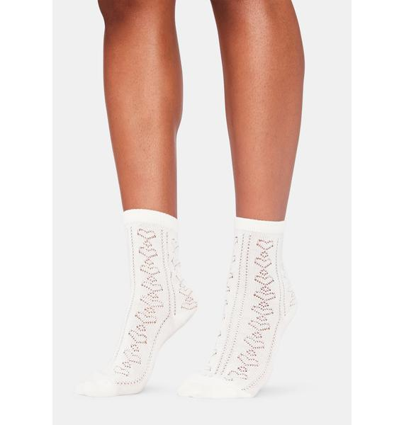 Looking For Love Crew Socks