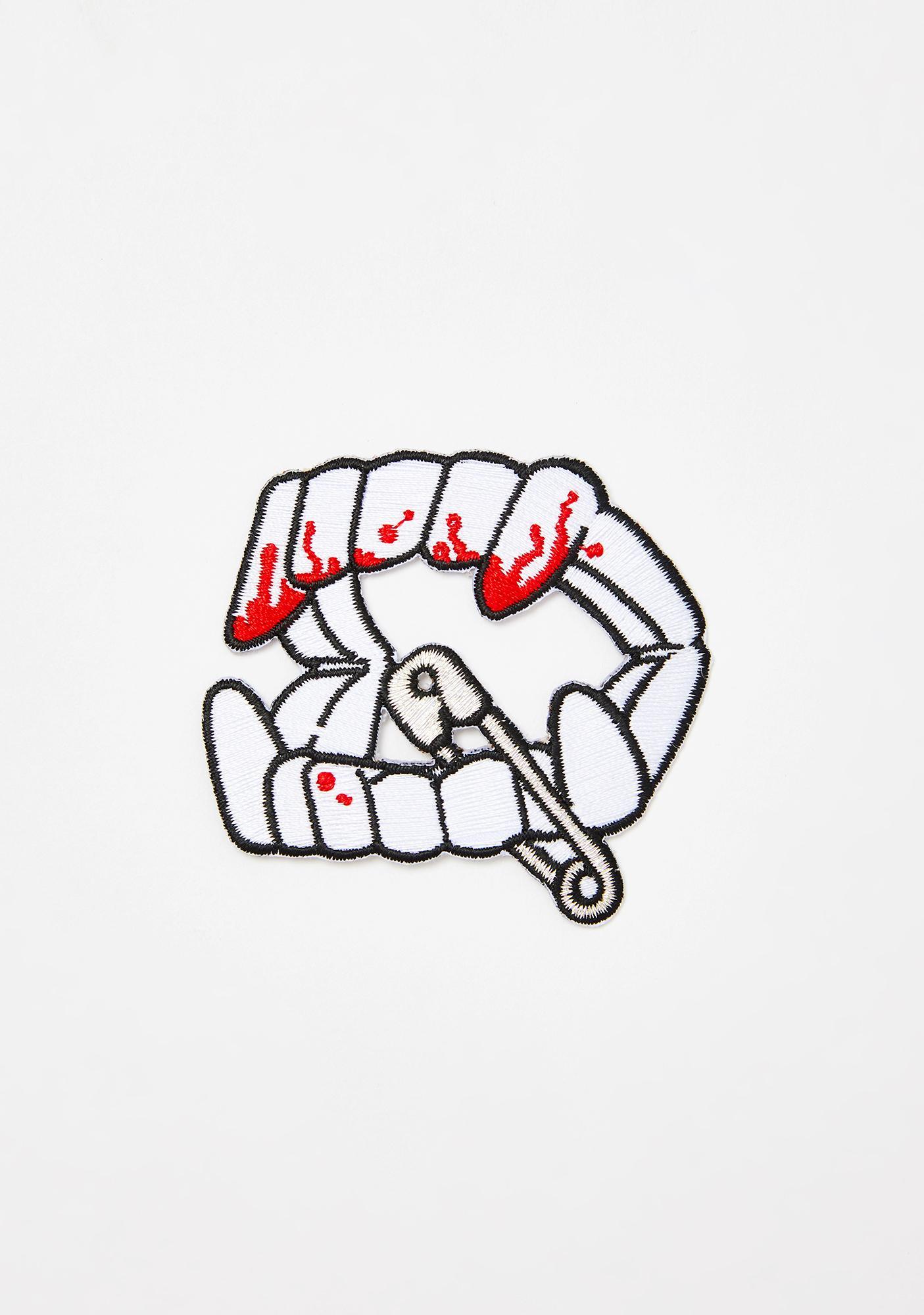 Kreepsville 666 Vamp Teeth Patch