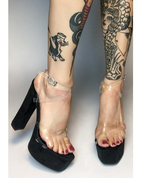 Stay On Trend Platform Heels