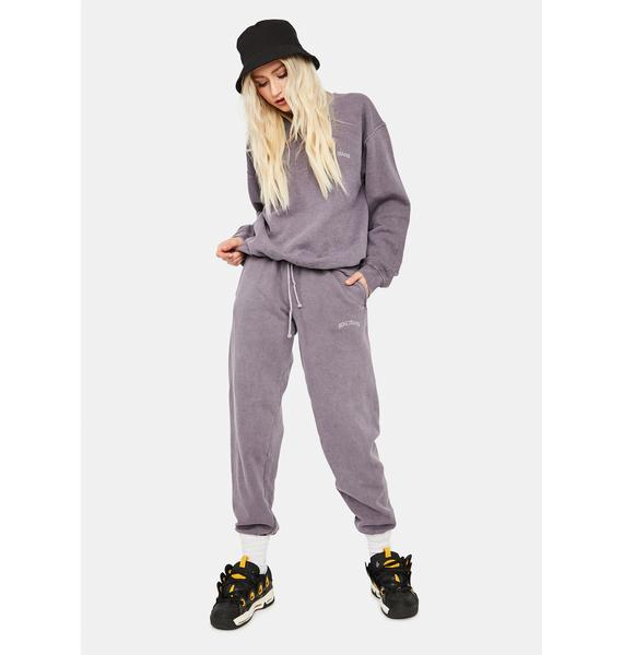 BDG Lilac Jogger Sweatpants