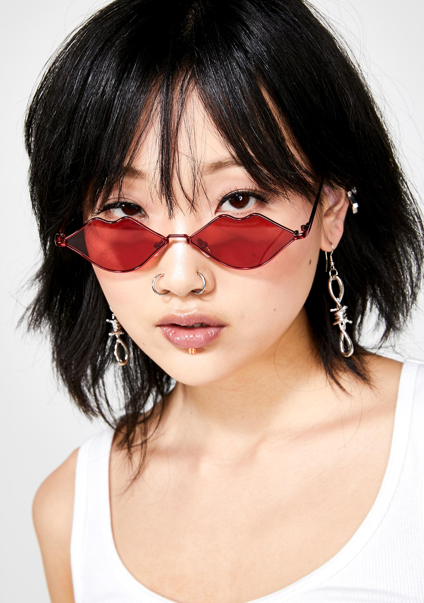 Pucker Lips Sunnies by Giant Vintage