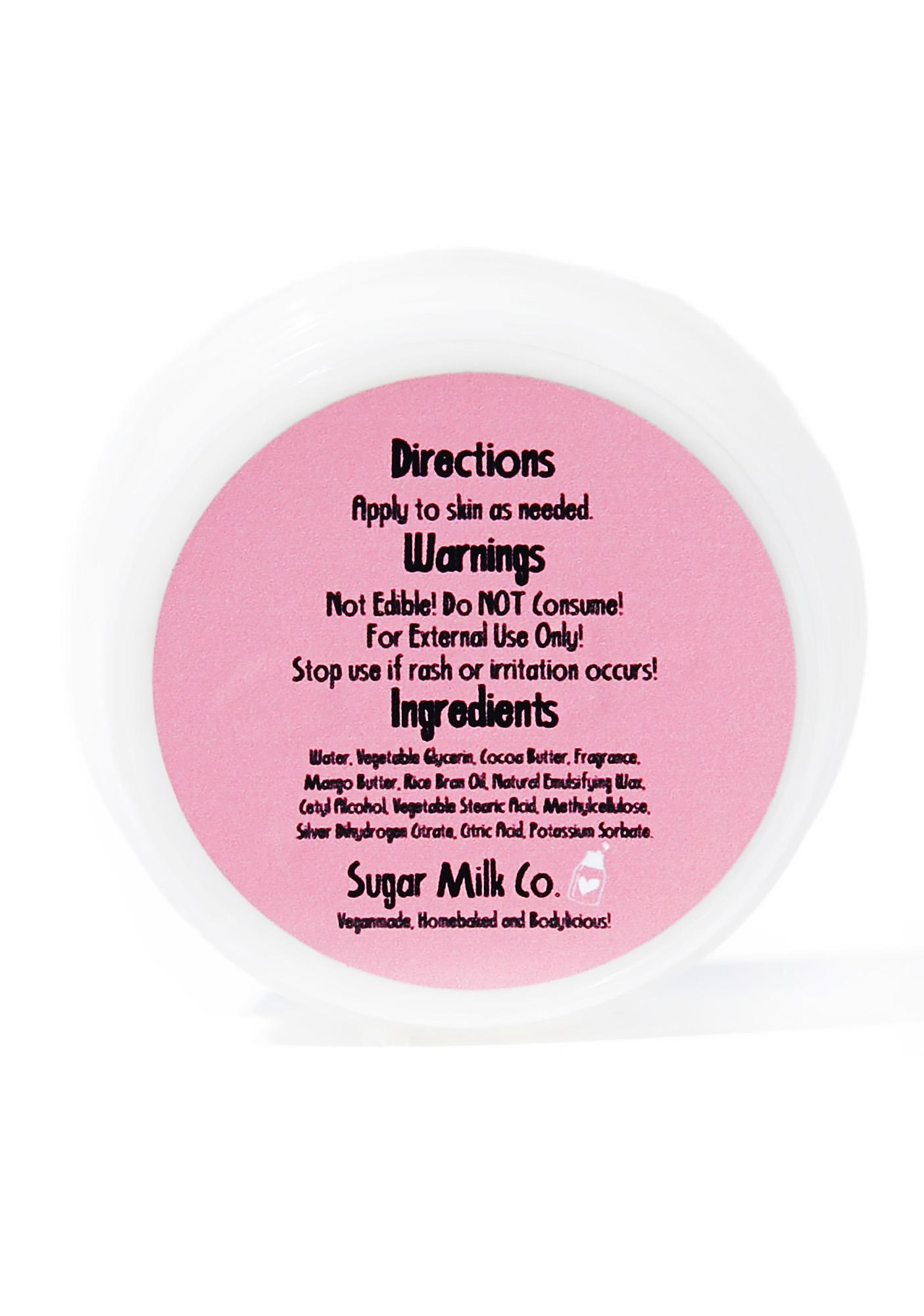 Sugar Milk Co Birthday Cake Whipped Body Butter
