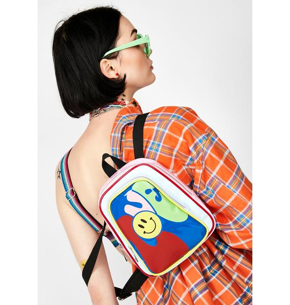Current Mood Love Haight Vinyl Backpack