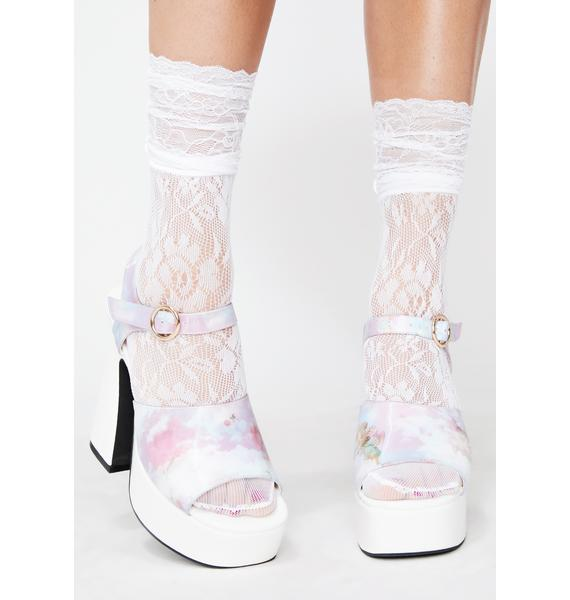 Lady Lola Lace Socks