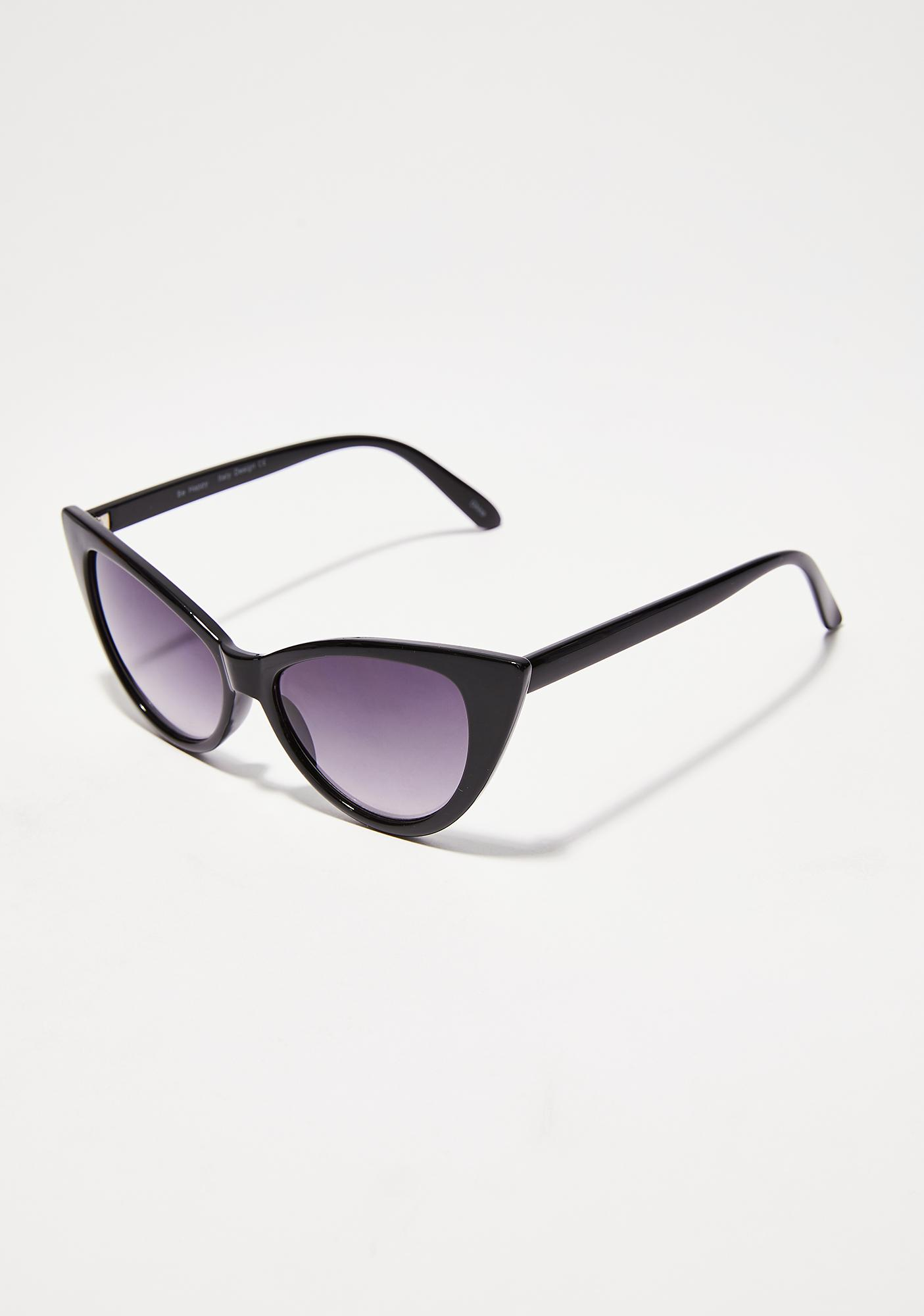 Last Call Cat-Eye Sunglasses