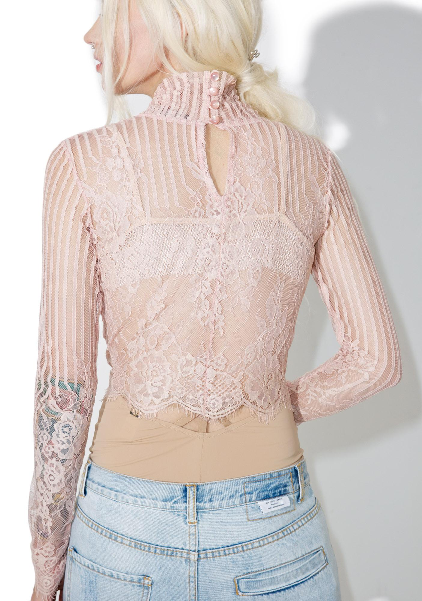 Motel Blush Lara Top