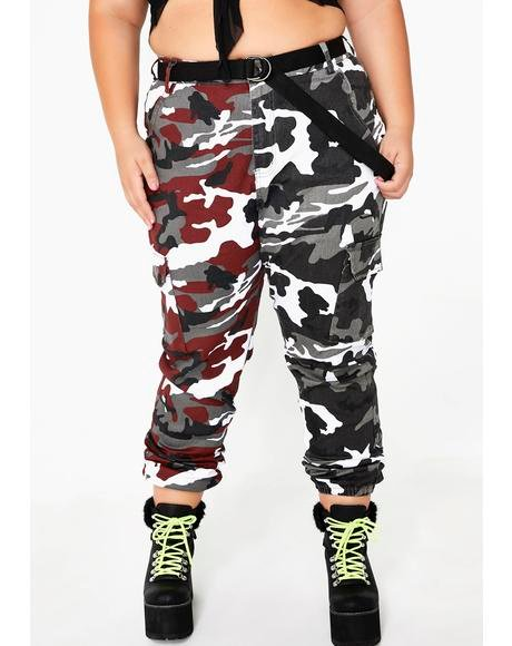 Bloody Dual Empowered Babe Camo Pants