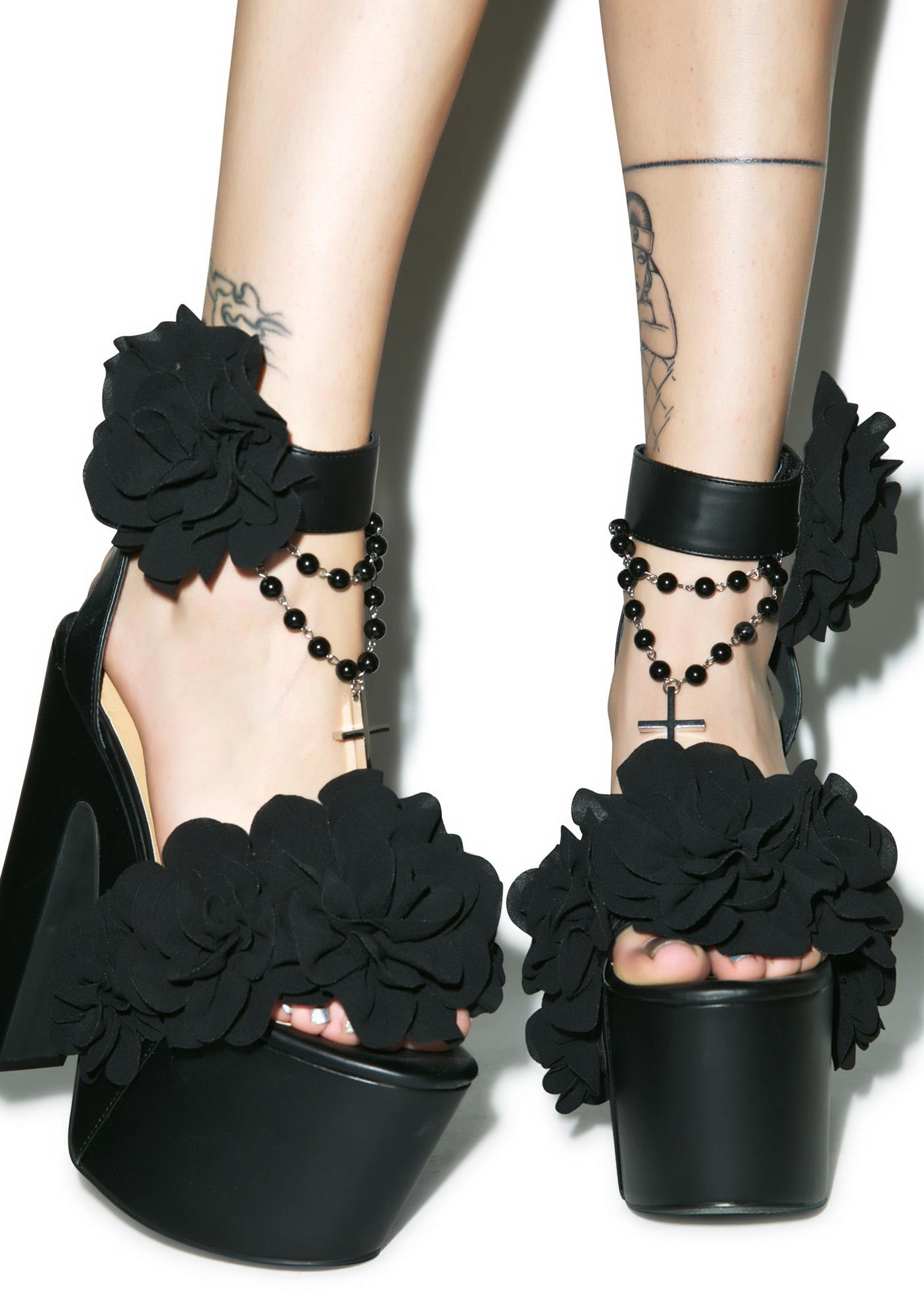 Current Mood Muerte Rose Platforms