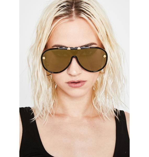 Ready To Takeoff Aviator Sunglasses