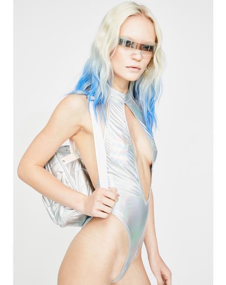 Holographic Keyhole Bodysuit
