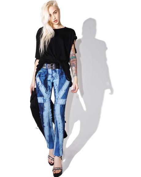 Union Jack Denim Jeans