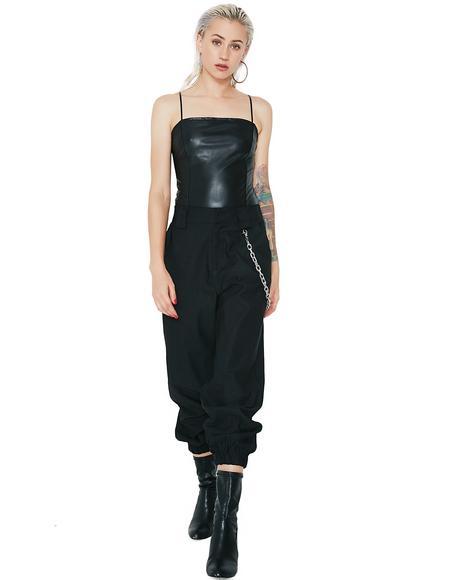 Hot Minute Strappy Bodysuit