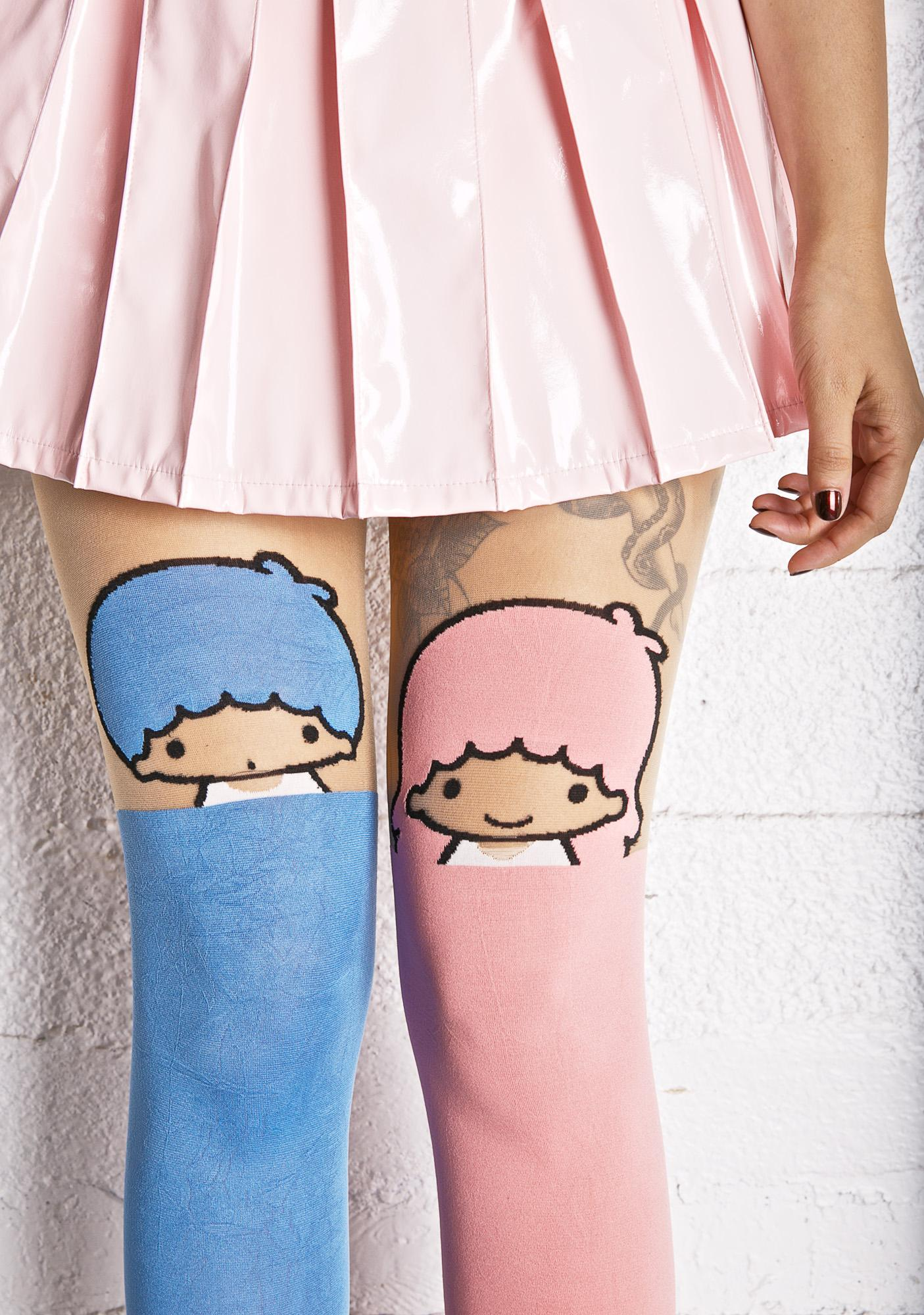 Little Twin Stars Pastel Tights