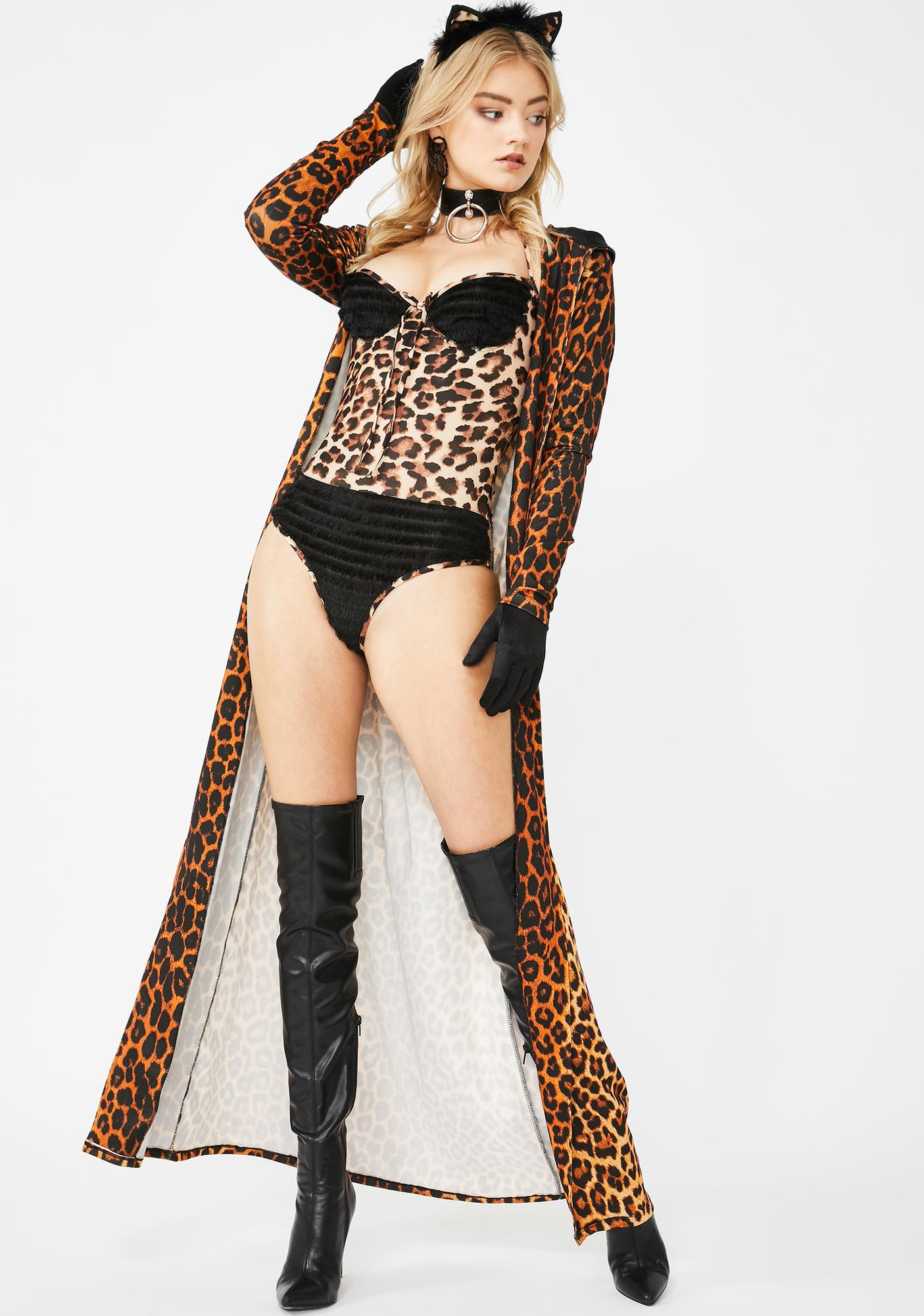 Luscious Leopard Bodysuit Set