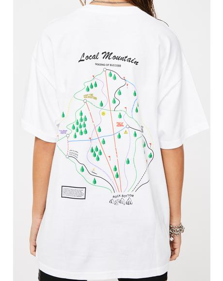 Trail Map Graphic Tee